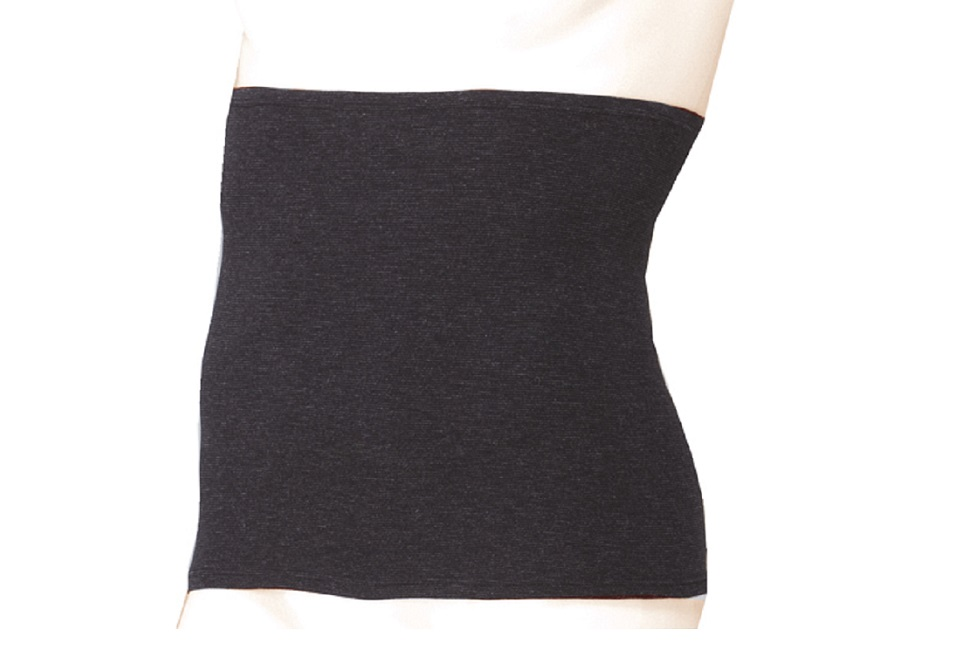 夏の冷房対策にもオススメ IOCA ウェストウォーマー メンズ(ブラック)